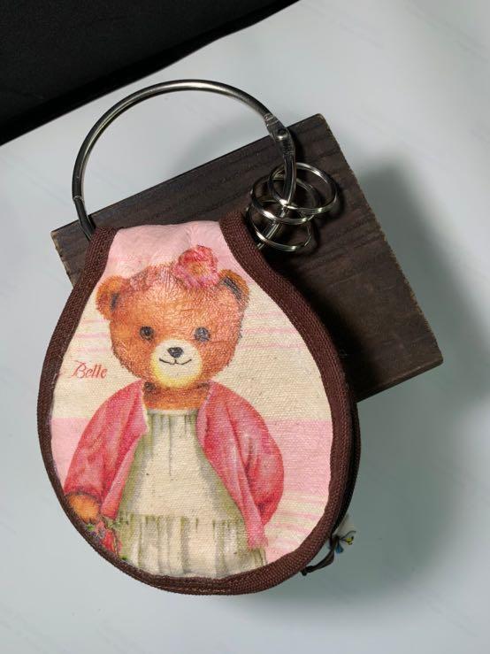 手工熊熊鑰匙圈 handmade bear keychains