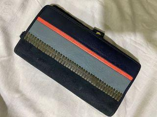 Dompet / Wallet Fossil Blue Navy Auth