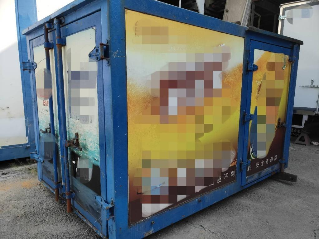 中華威利小貨車發財車車廂FRP貨車車廂倉庫工具室雜物間飼料間農用