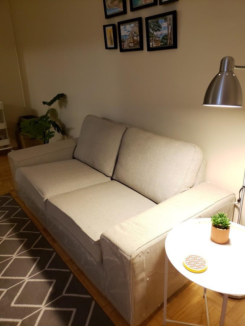 IKEA KIVIK Loveseat in Hillared Beige