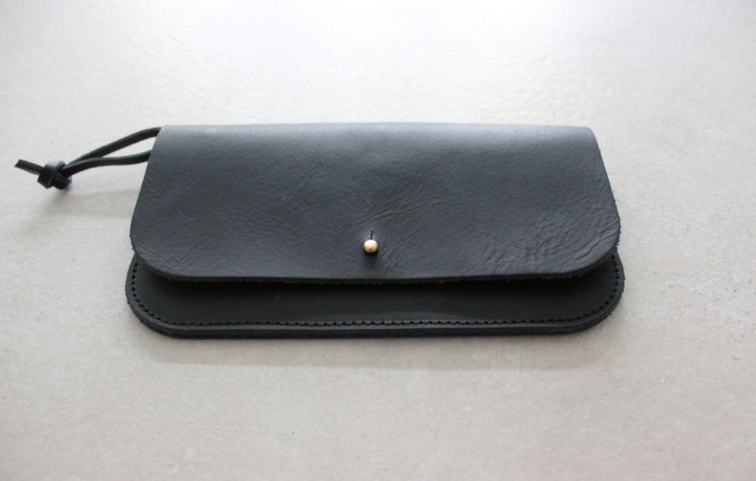 iPhone X Leather Sleeve Zipper