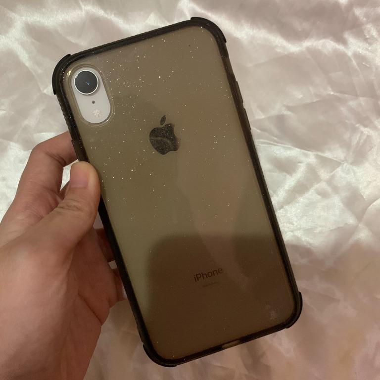 Iphone XR Glitter Bumper Clearcase