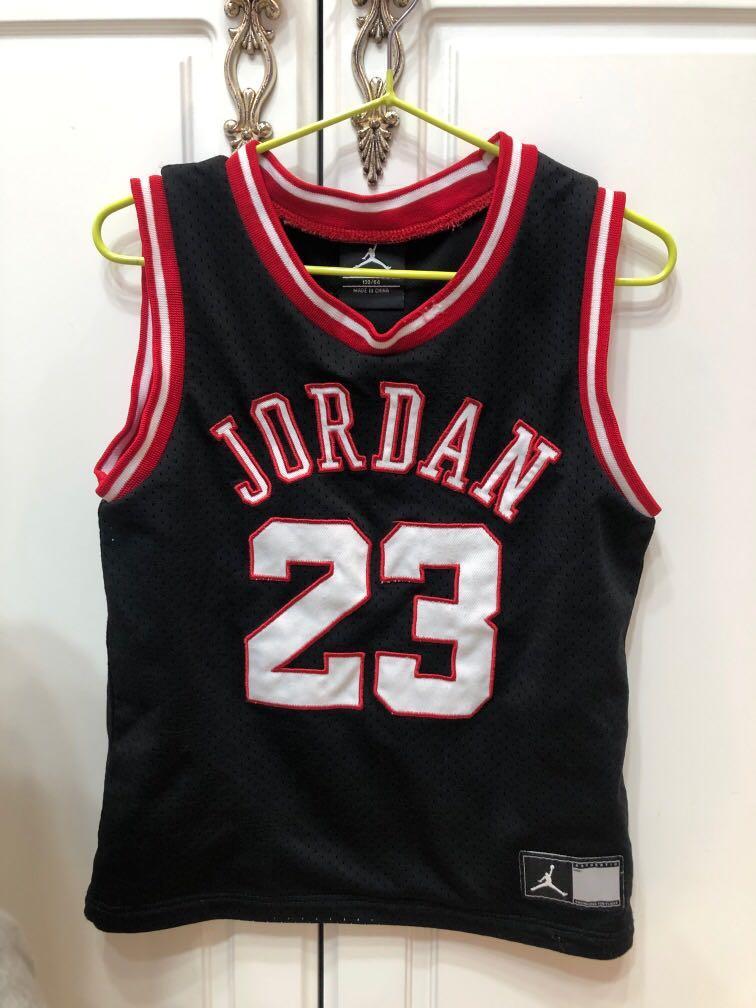 正版Jordan小孩球衣