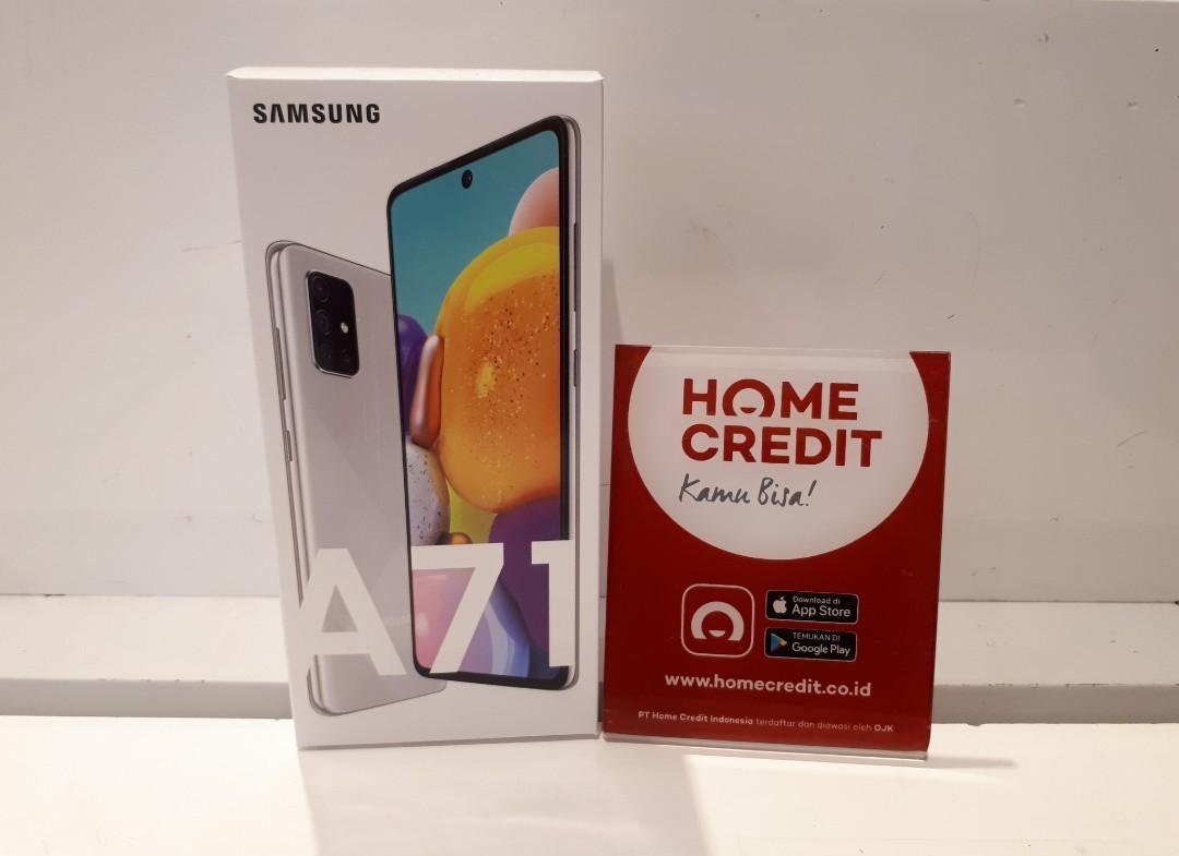 Kredit Samsung galaxy A71 Silver