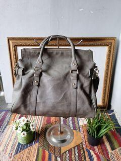 Tas Anne Klein Tote Large Leather Bag Authentic #End Of Year Sale