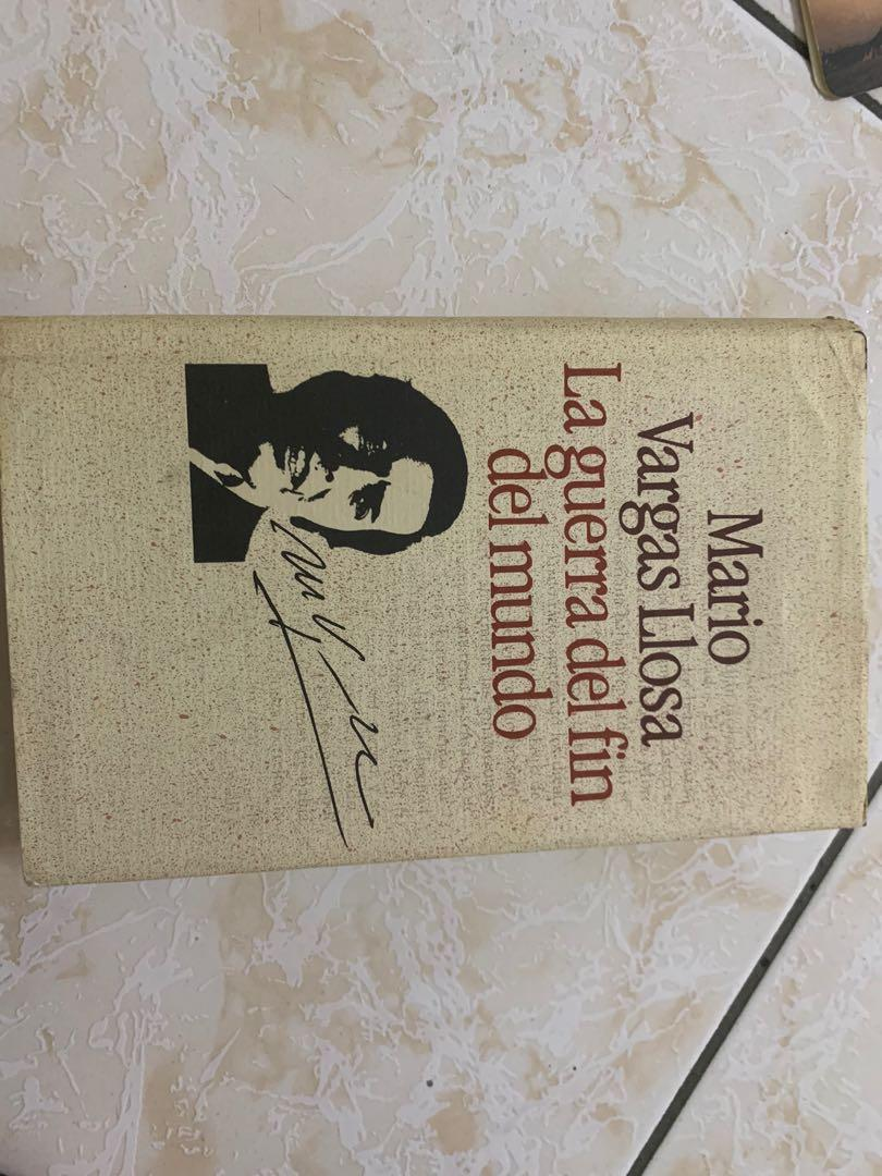 Mario Vatgas LIosa 原文書
