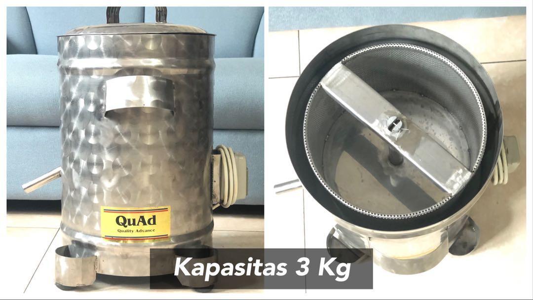 Mesin peniris minyak makanan (Spinner)