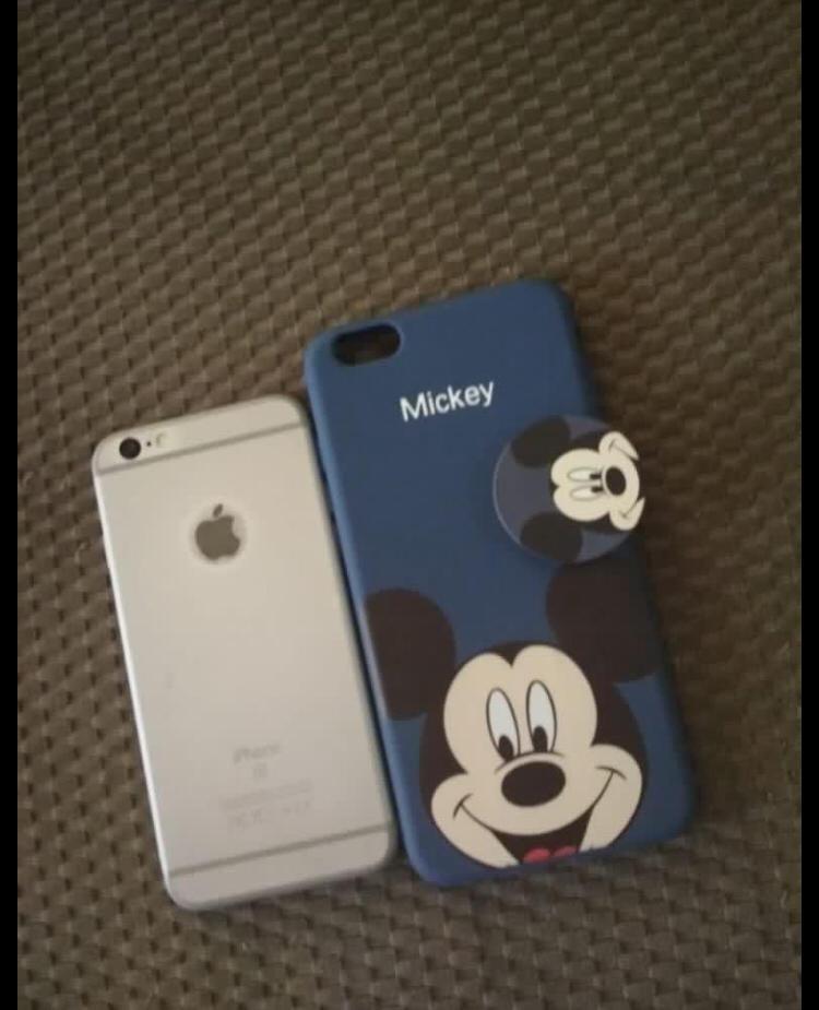 Mickey iPhone Case 6 Plus/S Plus