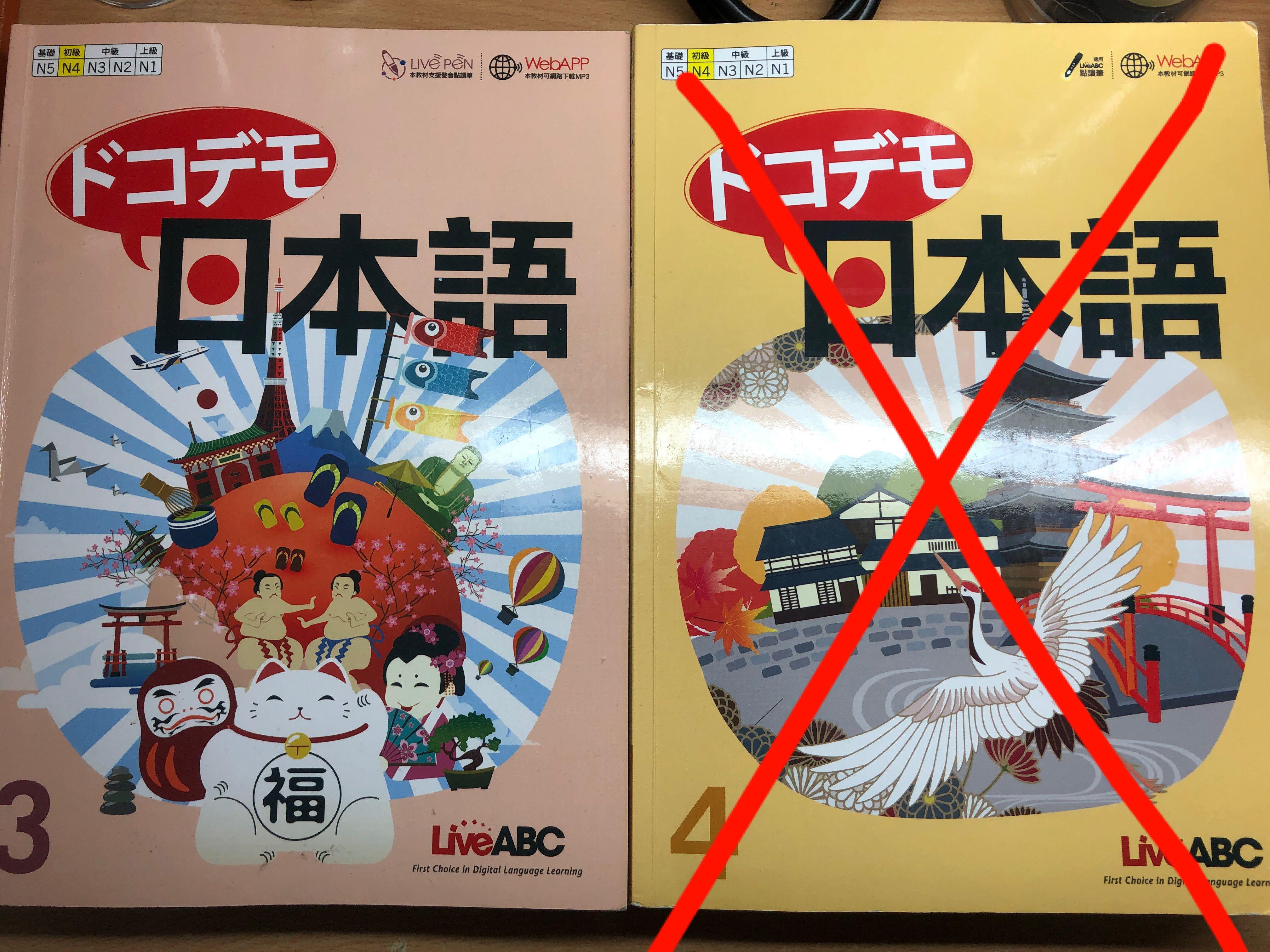 N4程度 ドコデモ日本語3