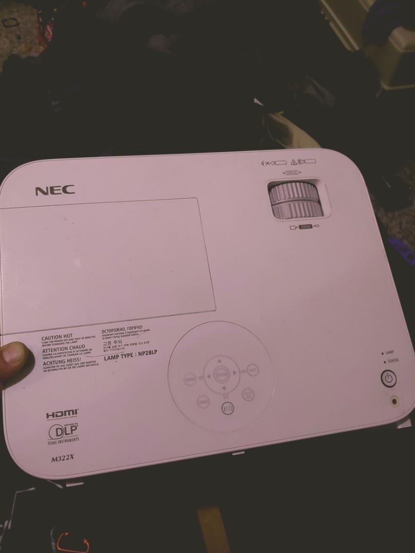 Nec HD 3D projector