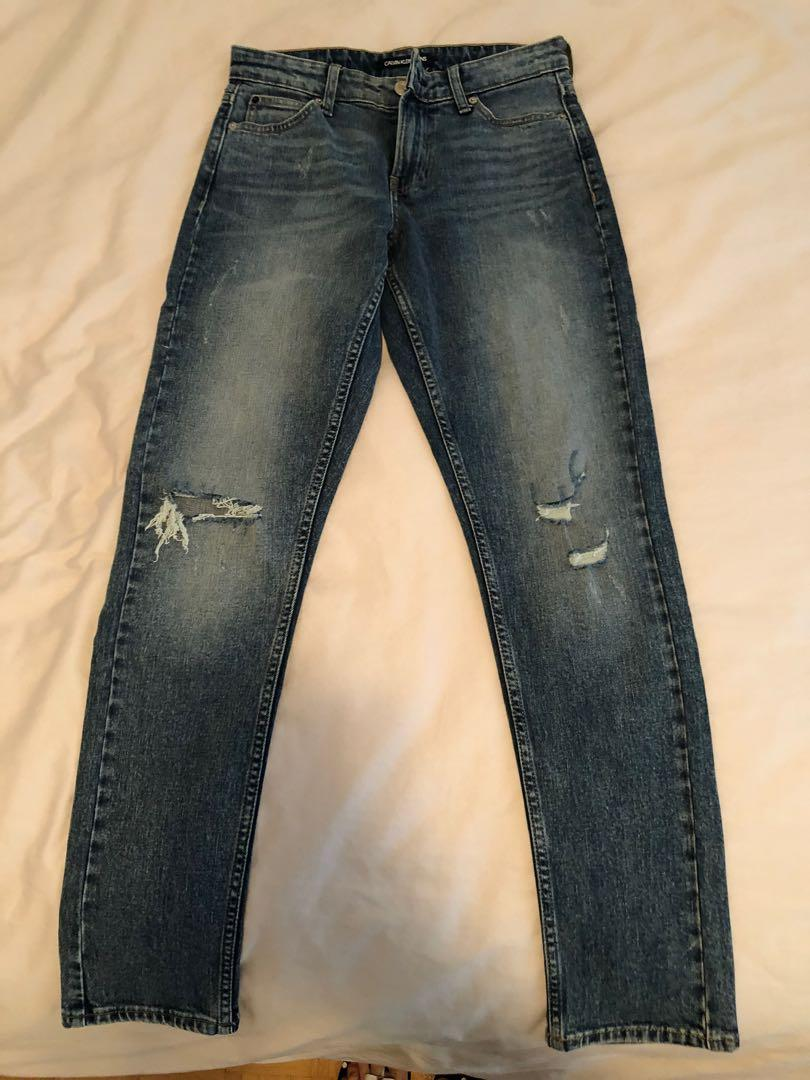 *NEW* Calvin Klein distressed jeans, size 26