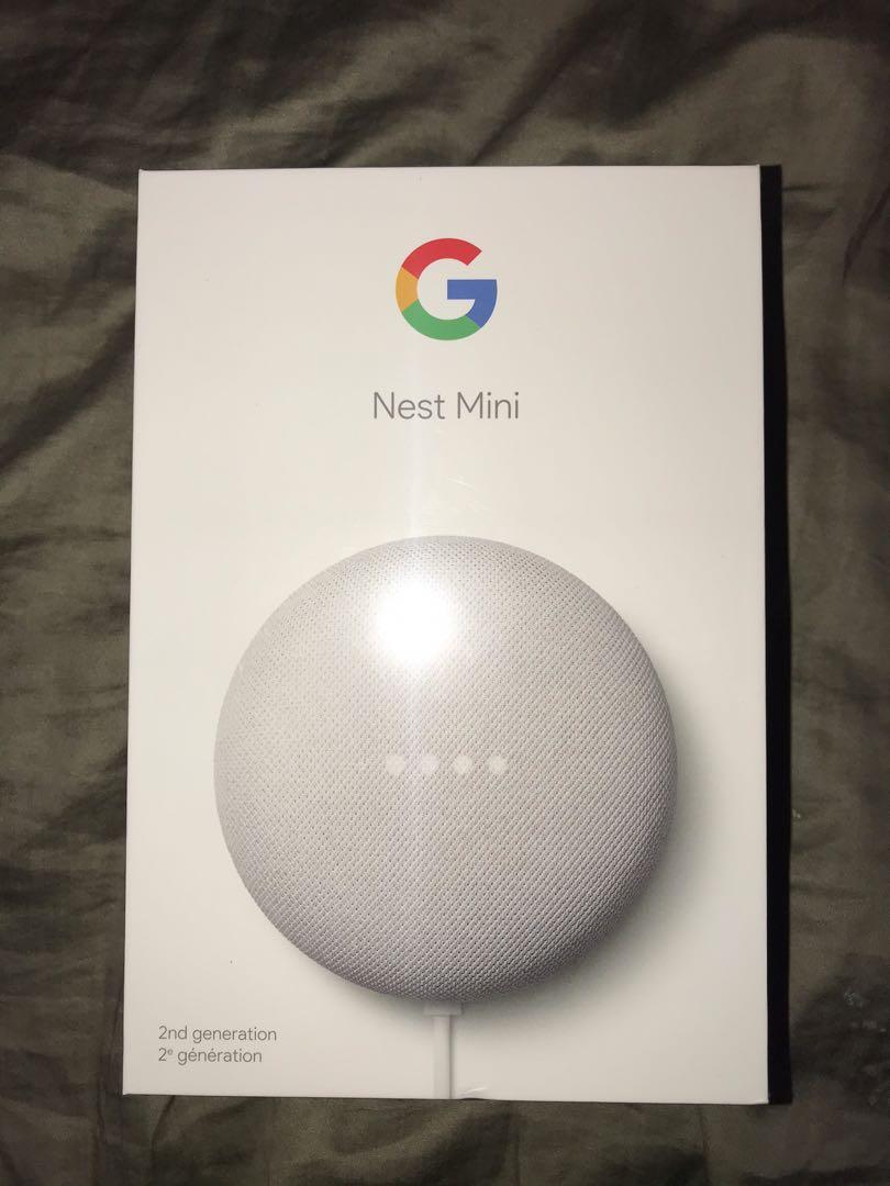 NEW Google Nest Mini 2nd Generation