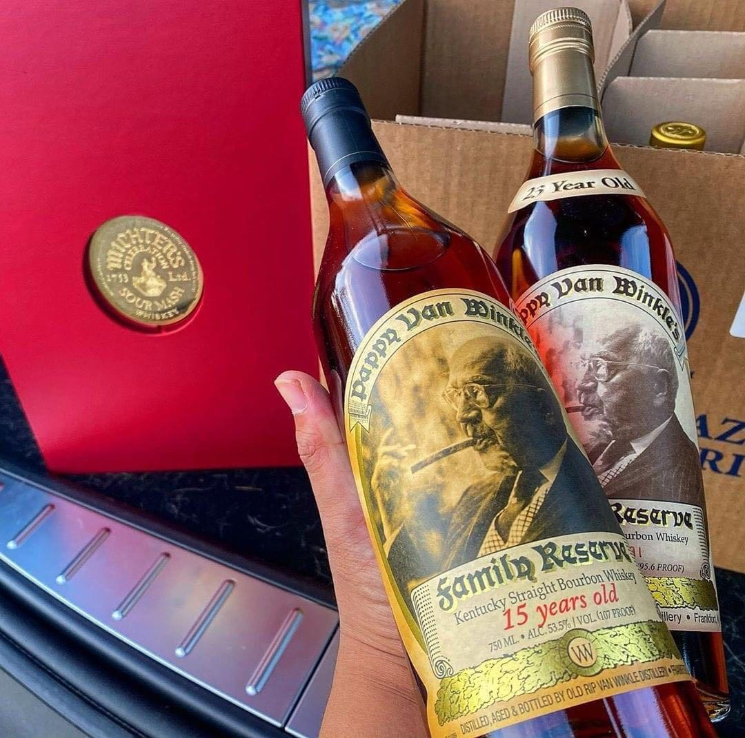 Pappy 15,20 and 23 years old for sale
