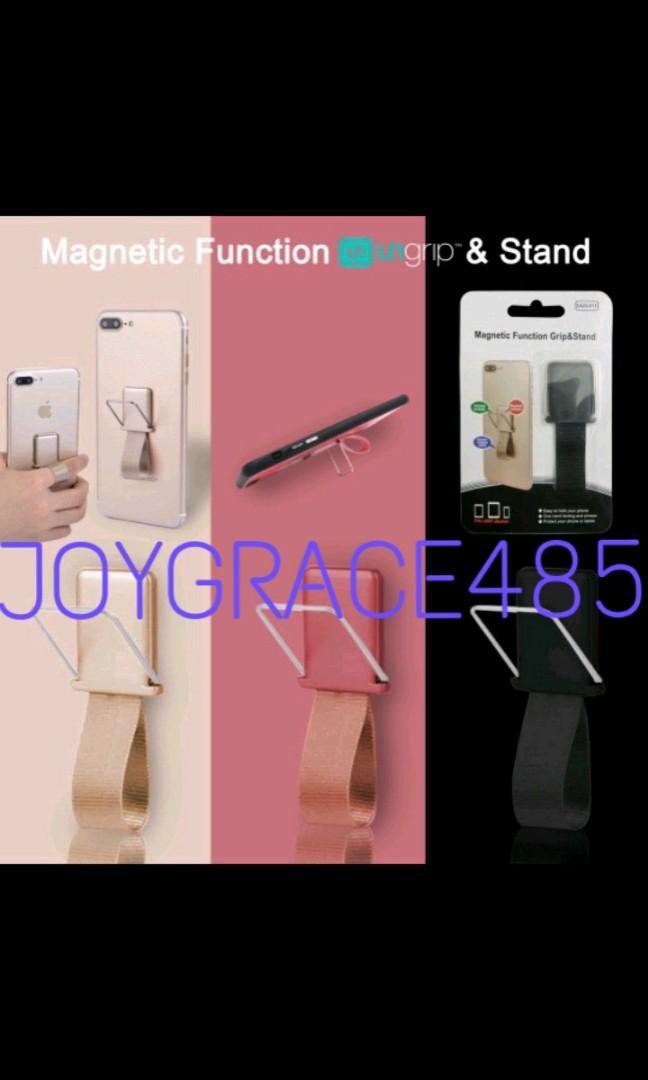 PEGANGAN HP KARET FINGER GRIP PHONE MAGNETIK(HAND)