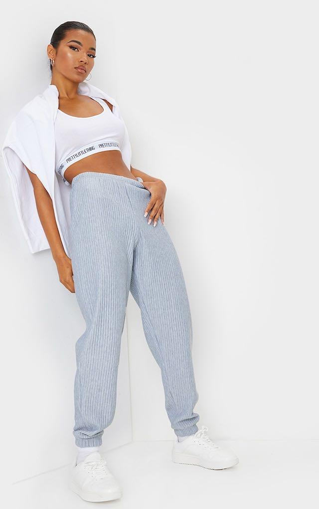 Pretty Little Thing Ribbed Joggers
