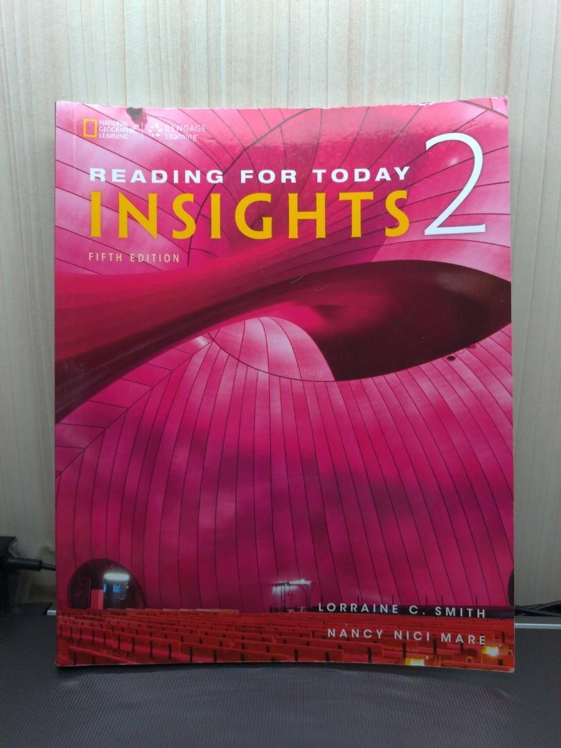 Reading for today : Insights 2