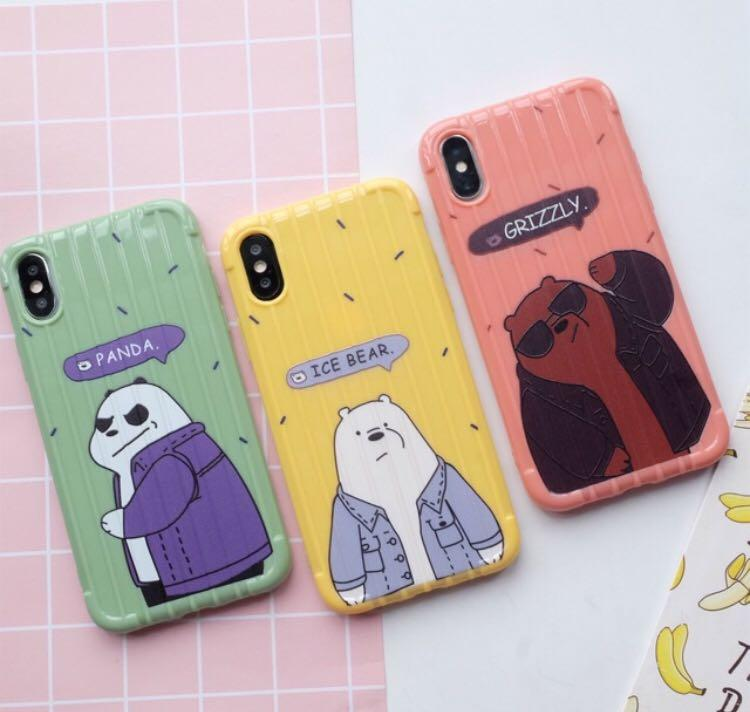 READY SOFTCASE WE BARE BEARS🤩 all type hp di deskripsi