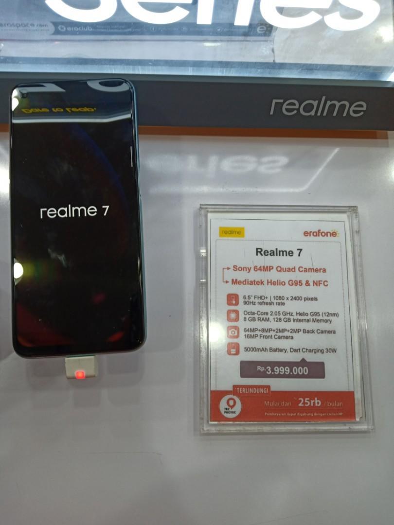 Realme 7, Bisa Kredit Tanpa Kartu Kredit