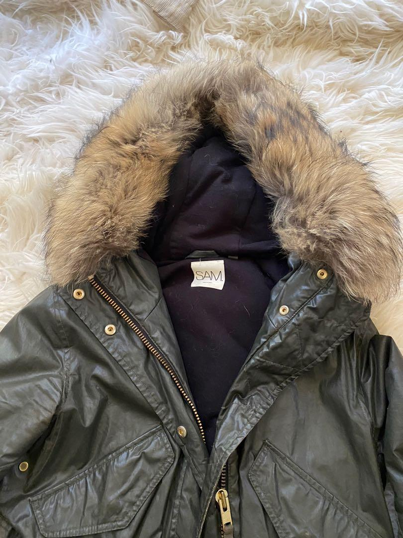 SAM NYC fur Hudson Parka Medium
