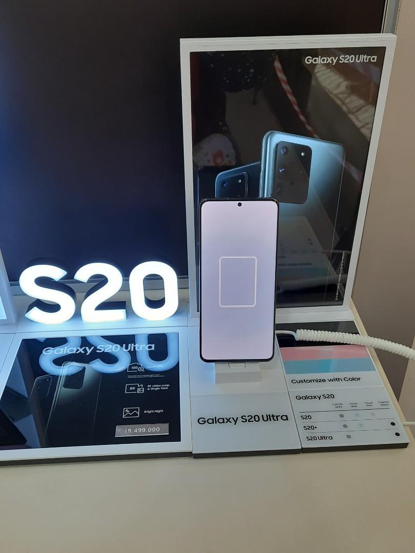 Samsung Galaxy S20 Ultra Diangsur Tanpa CC