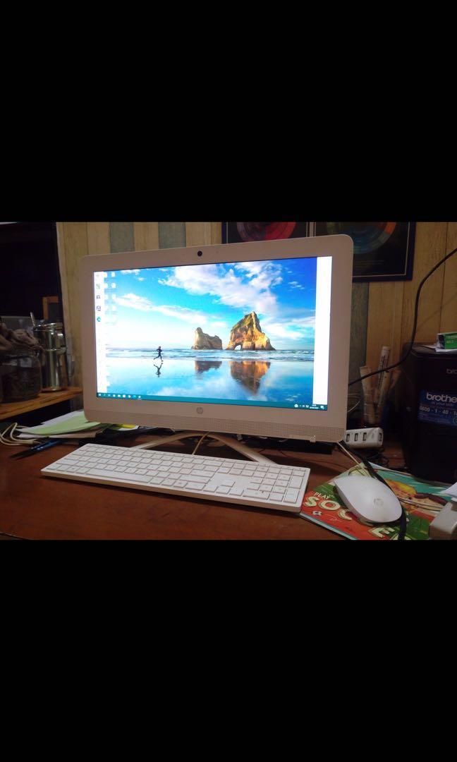 [second] PC HP All-in-One 20-c423L Non Windows [3JV59AA]