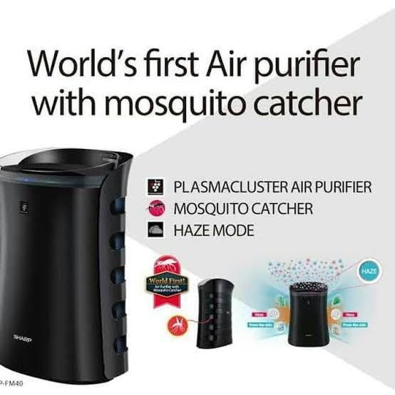 Sharp Air Purifier FP-FM40Y-B With Mosquito Catcher
