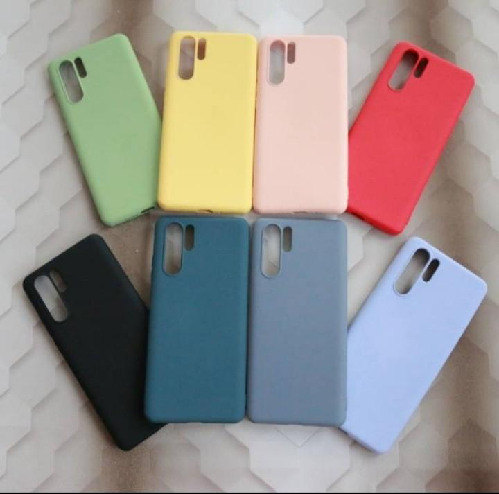 Softcase pastel tebal silikon Huawei P30 pro