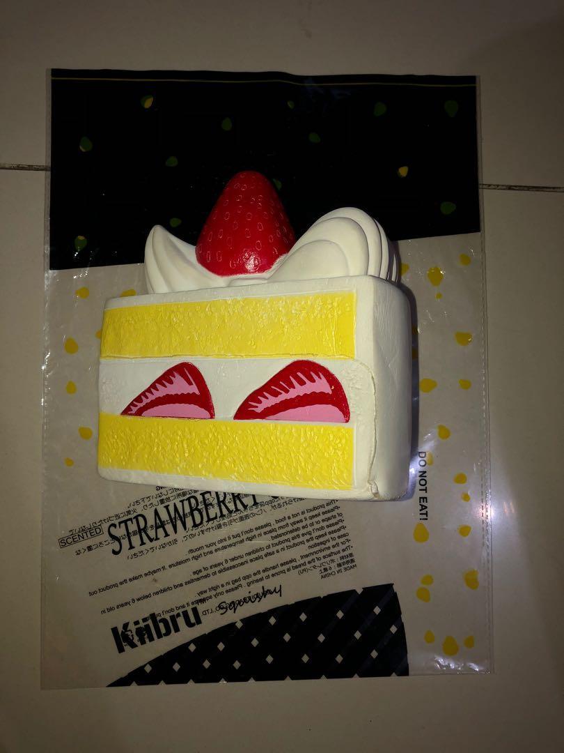 Squishy Strawberry Cake Kiibru