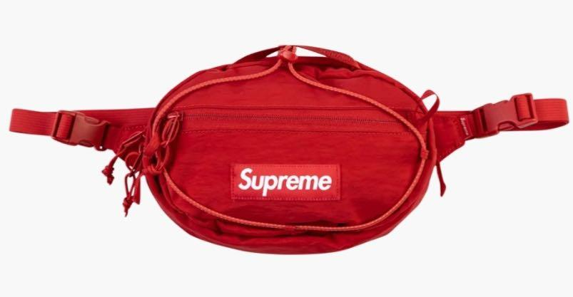 Surpreme Red WaistBag '20 am- Brand New