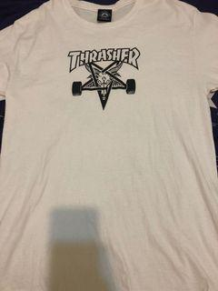 Thrasher白色短T
