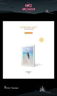 SEALED To once from jihyo 2 photobook