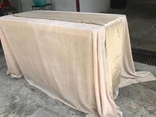 VELVET TABLE CLOTH (4ft table)