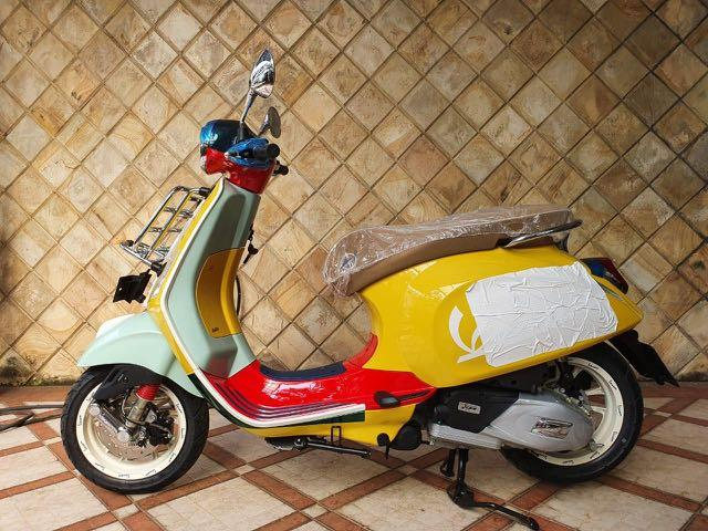 Vespa primavera wotherspoon limited edition