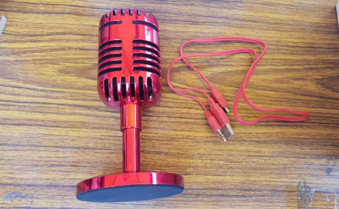 全新紅色音響18×直徑6(底座直徑9)公分附盒,唯此一個唷