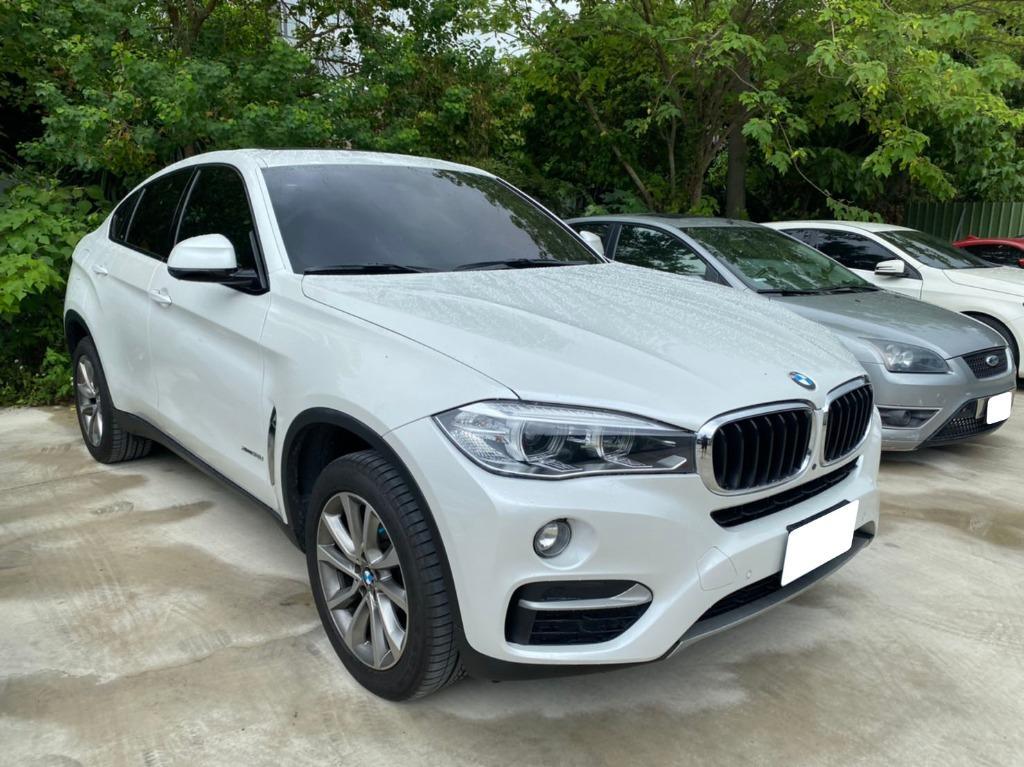 2015年BMW寶馬X6 汽油 白 只跑2萬 保證一手車