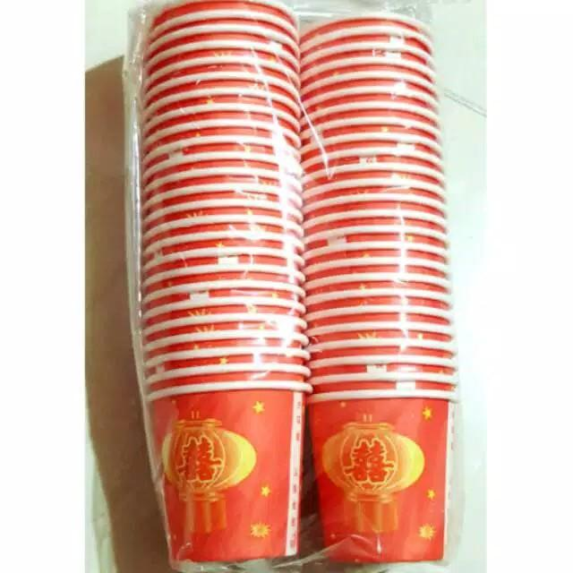 2 packs Tea Pai/Phang teh Papercup (50pc/pack)