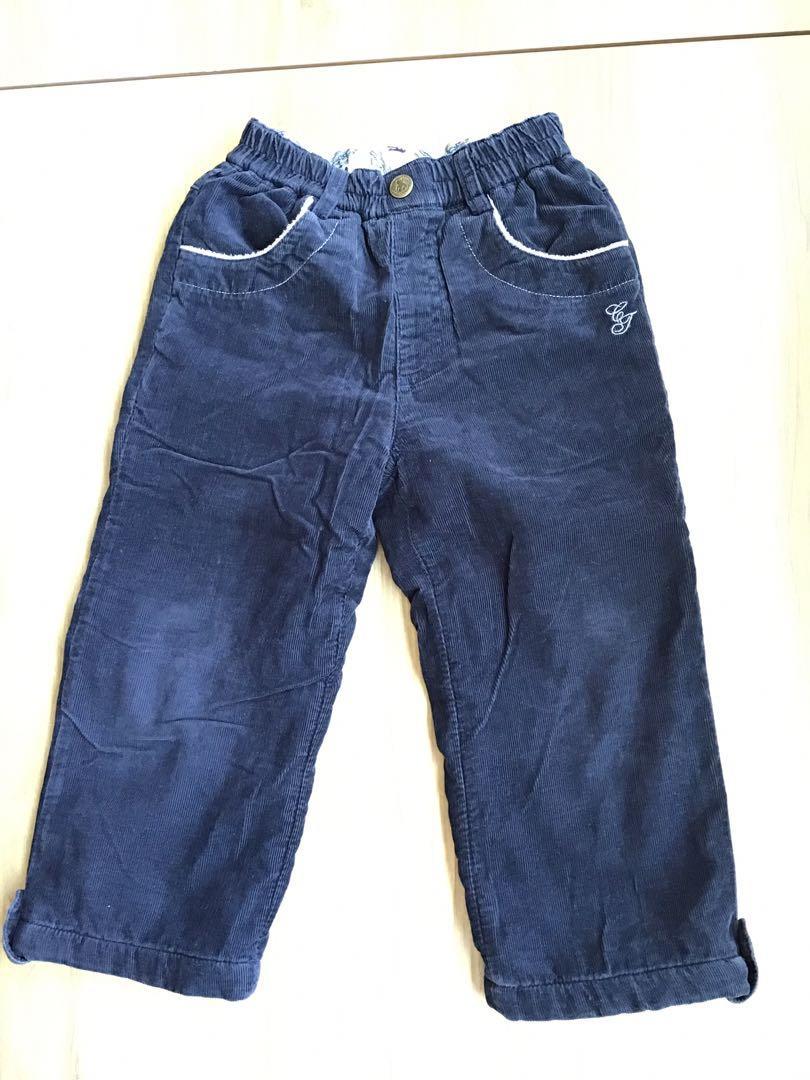 精典泰迪厚款長褲