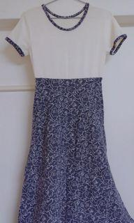 質感針織洋裝 復古異材質拼接 #剁手價