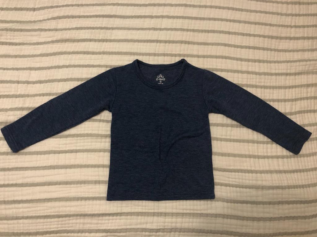男幼童冬季保暖內衣長袖上衣