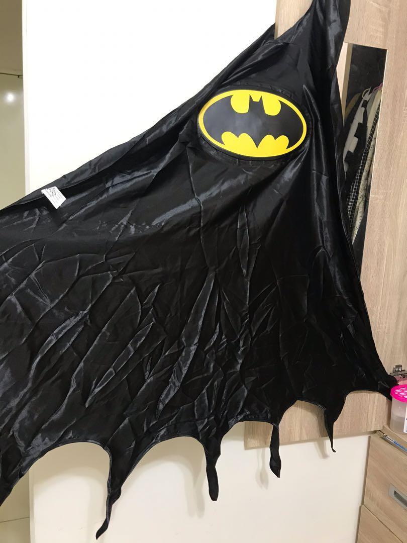 澳洲購入 正版蝙蝠俠披風