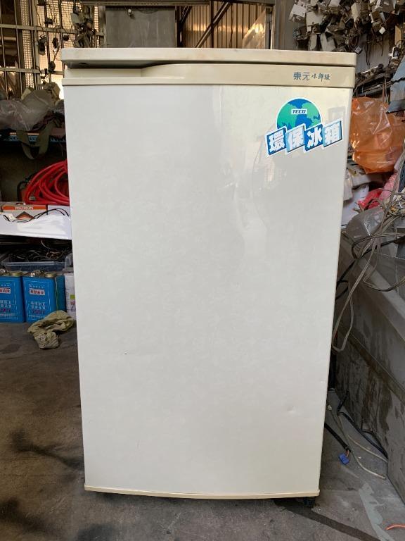 [中古] 東元 99L 單門冰箱 小冰箱 冷藏小冰箱 套房冰箱 台中大里二手冰箱 台中大里中古冰箱 修理冰箱 維修冰箱