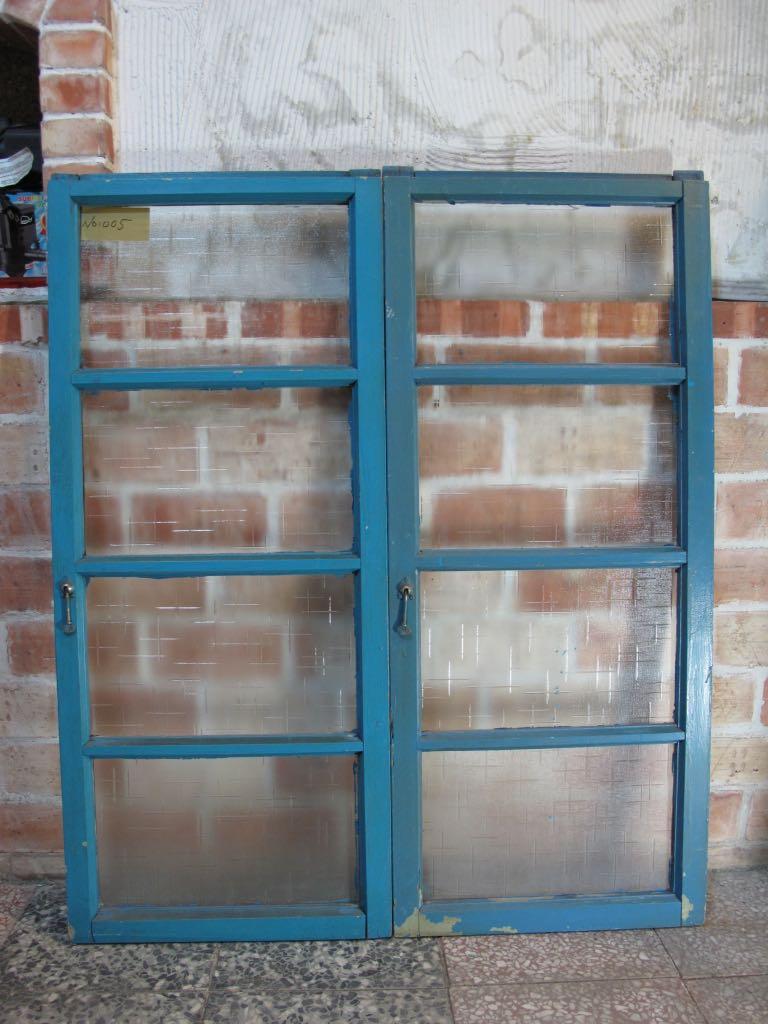 二手/古董窗戶 檜木窗 NO 005