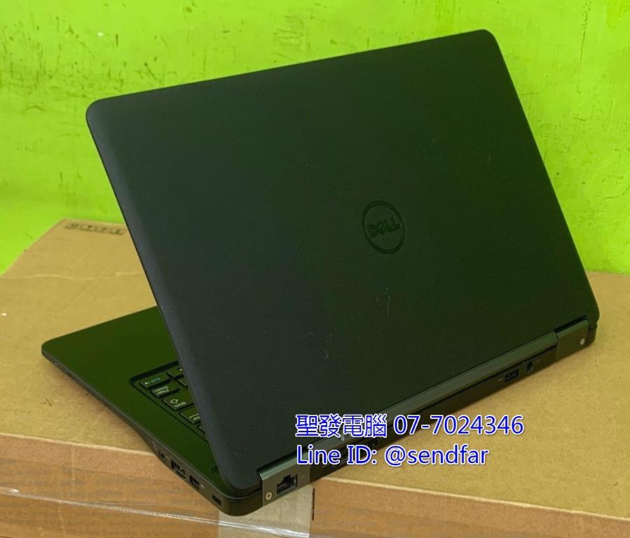 便攜高效 天M模擬器 DELL E7250 i7-5600U 8G 128Gmsata 12吋 聖發二手筆電