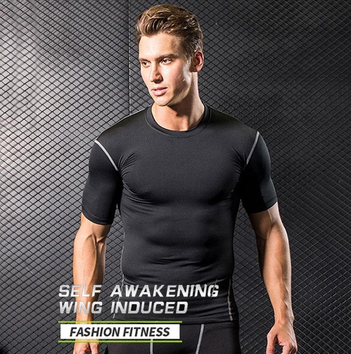 【A2】Fitness clothes series\tight-shirt\stretchy suit\workouts\weight training\Sportswear\Sports T shirt  \Sports vest