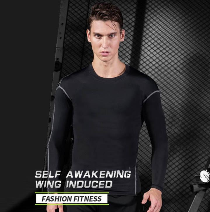 【A3】Fitness clothes series\tight-shirt\stretchy suit\workouts\weight training\Sportswear\Sports T shirt\Sports vest