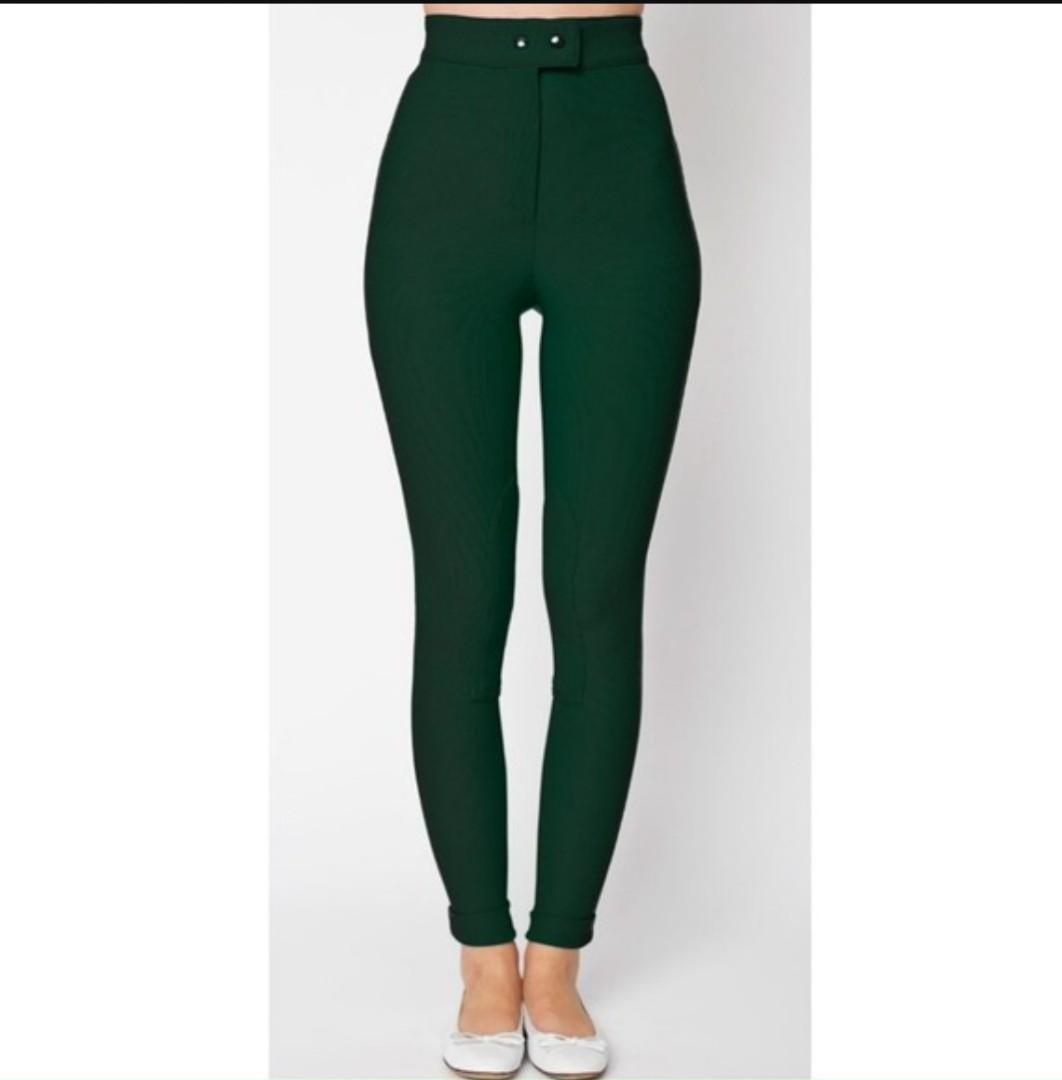 American Apparel Riding Pants - Green (M)