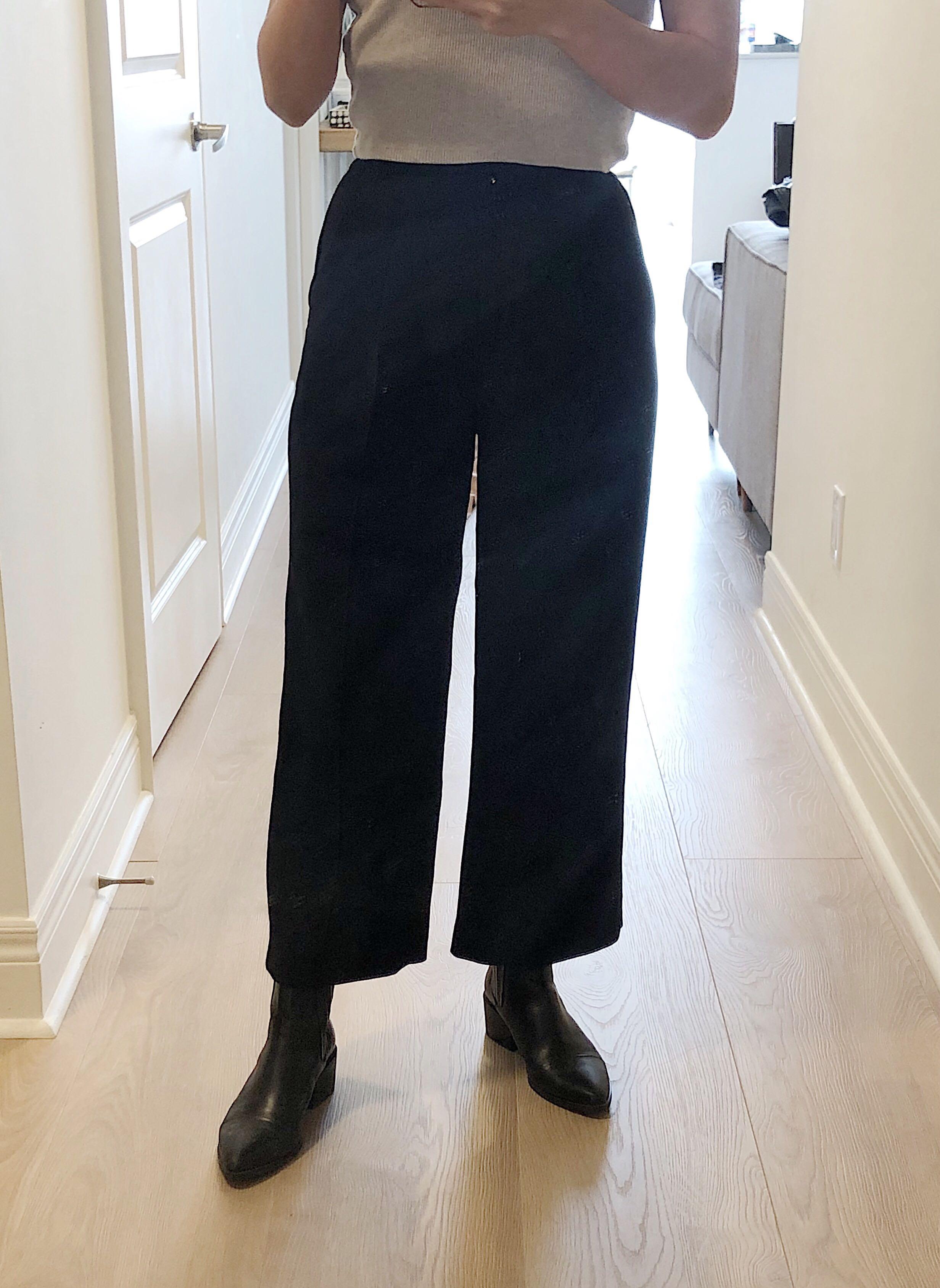 Aritzia Wilfred black dress pants