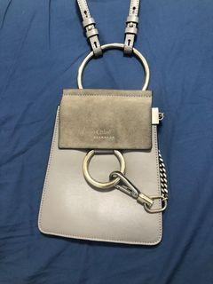 Authentic Chloe Faye Leather Bracelet Bag