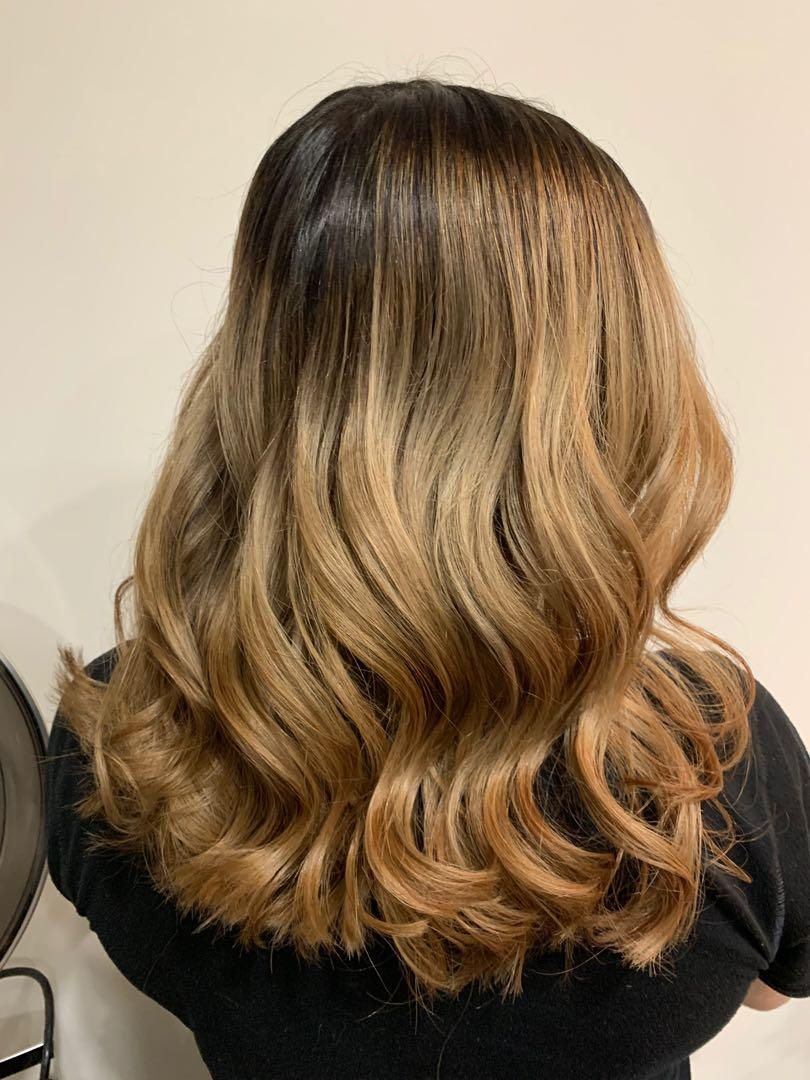 Balayage & colour