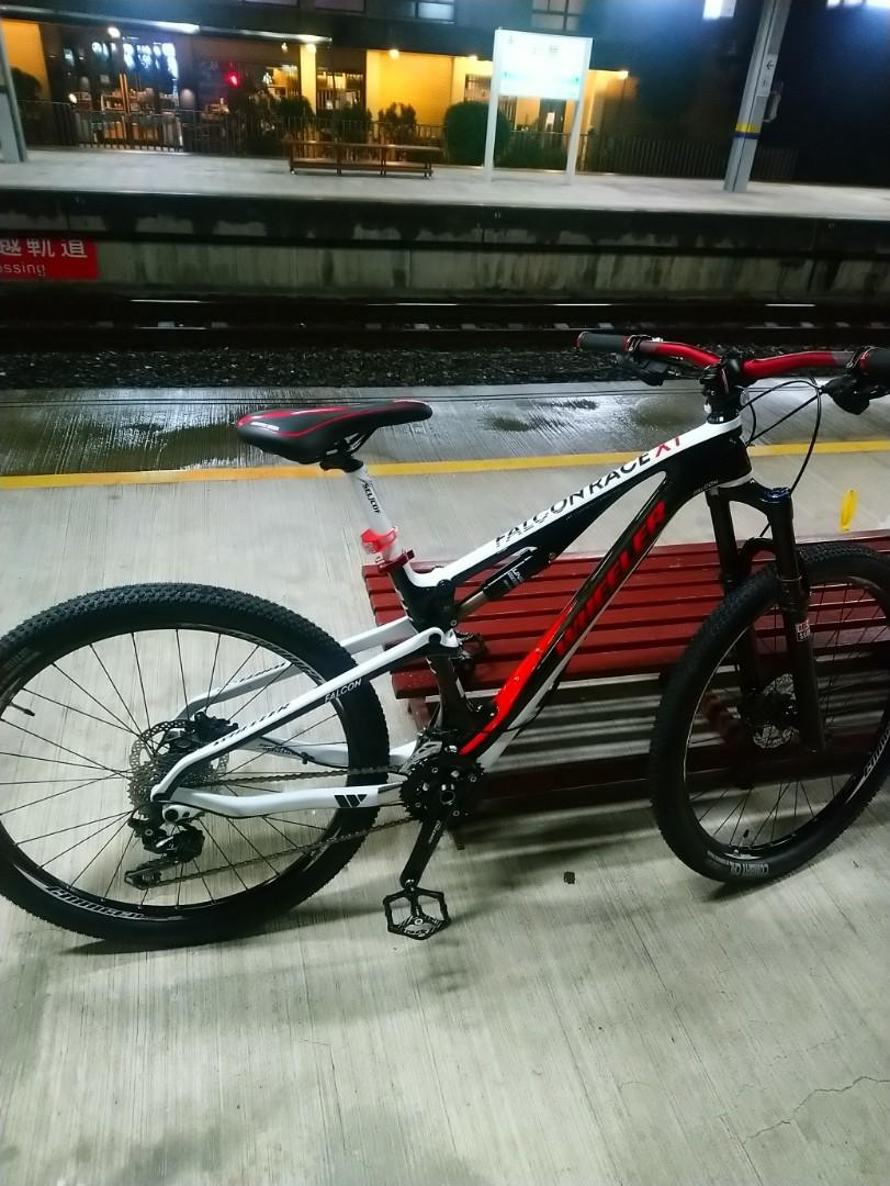 Bicycle carbon frame,